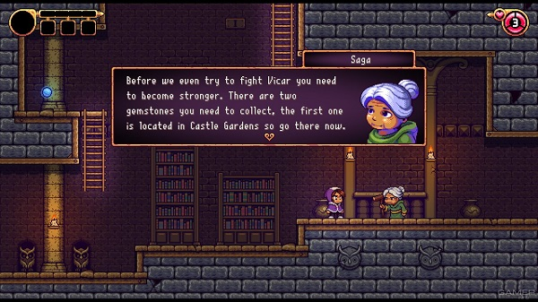 Alwa's Legacy Story