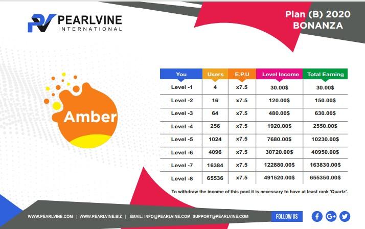 Amber Auto Pool Income