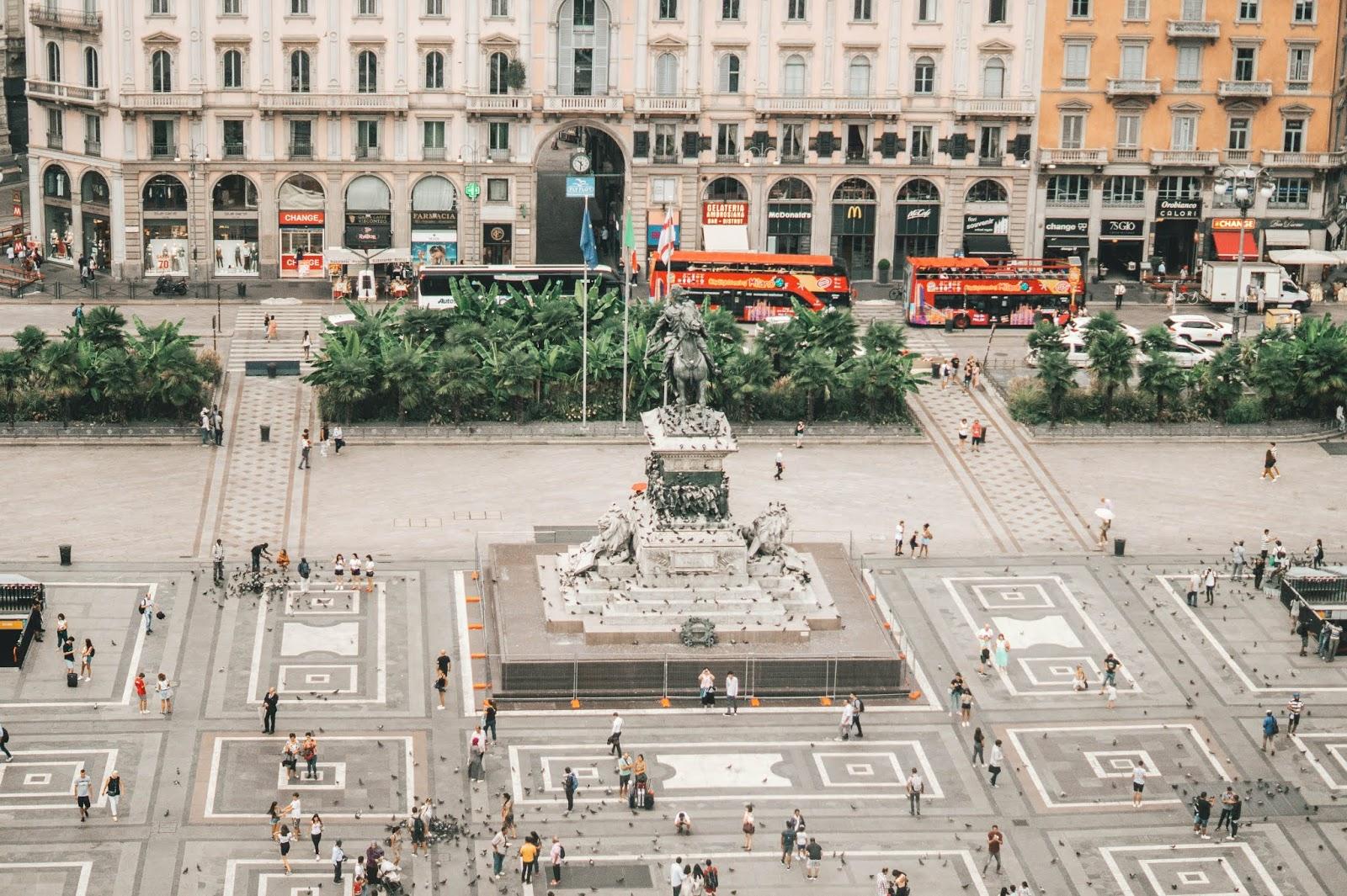 vue toit terrasse Milan