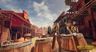 Guns n Stories Bulletproof VR VREX