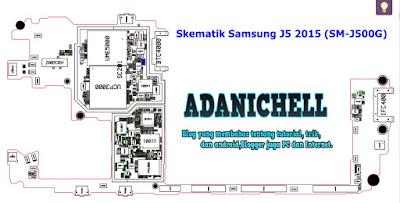 Skematik Samsung J5 2015 (SM-J500G)
