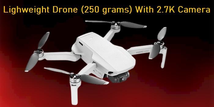 DJI Mavic Mini Combo - Lightweight Drone With 2.7K Camera
