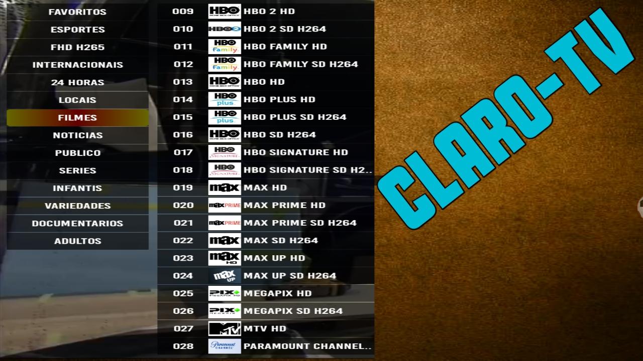 شاهد المئات من القنوات اللاتينية والامريكية والافلام العالمية مجانا/Claro-tv