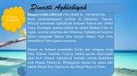 Sejarah Terbentunya Dinasti Aghlabiyah