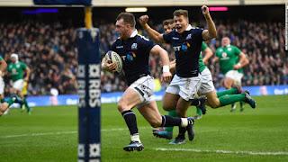 Escocia festejó en la apertura del Seis Naciones