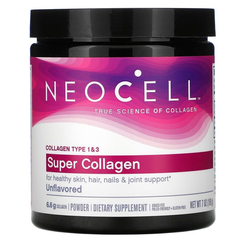 Neocell, суперколлаген, с нейтральным вкусом, 198 г (7 унций)