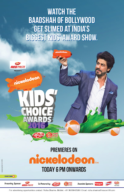 Dabur Red Paste presents Nickelodeon Kids Choice Awards 2016 powered by Lifebuoy and Choki Choki