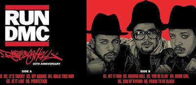 Run-DMC Raising Hell 35 Screen Print by Ken Taylor x Collectionzz