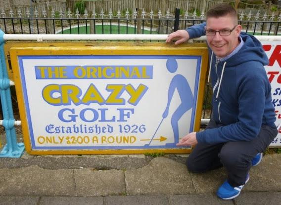 The Original Crazy Golf in Skegnes