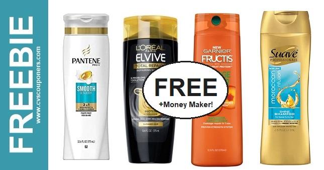 FREE L'Oreal & Garnier Shampoo CVS Deals