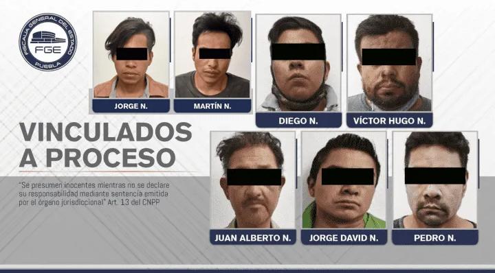Capturan a 7 secuestradores en Puebla, amputaban los dedos y pedían un millón de pesos por cada víctima