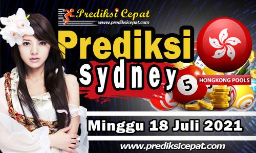 Prediksi Togel Sydney 18 Juli 2021