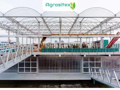 Floating Farm Tampak Depan