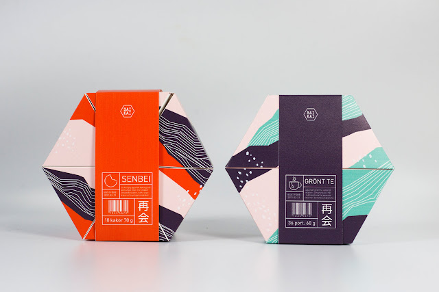 Genial concepto de distribución inteligente en un packaging hexagonal