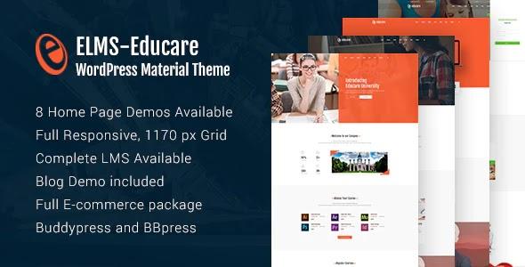 Elms 1.0 - Educational Material WordPress Theme