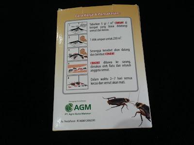 Conant Obat Pembasmi Semut & Kecoa Rumah Walet