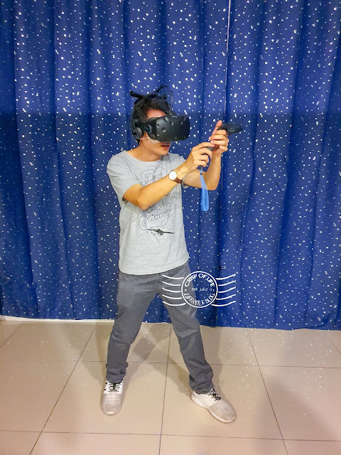 The First Wireless VR Games in Penang at M Mall Penang Time Squares - The Illusion Virtual Experience