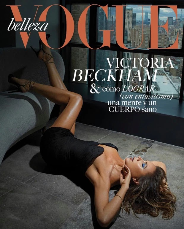 Victoria Beckham dazzles on the front of Vogue Mexico