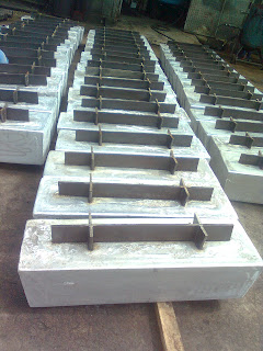 Zinc anode for  structure