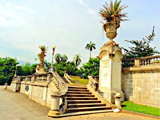 Escadaria em Frente ao Museu Nacional do Rio de Janeiro