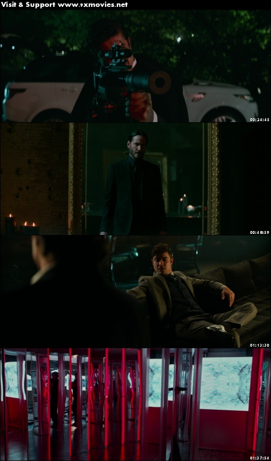 John Wick Chapter 2 2017 English 720p BRRip 1.2GB ESubs