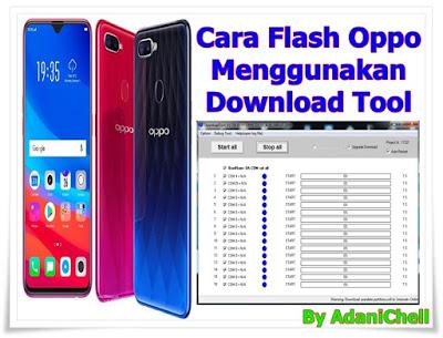 Cara Flash Oppo Menggunakan Download Tool