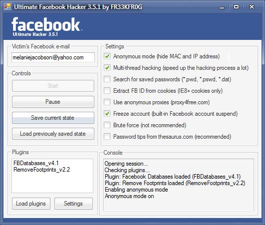 Facebook Hacker Program Features