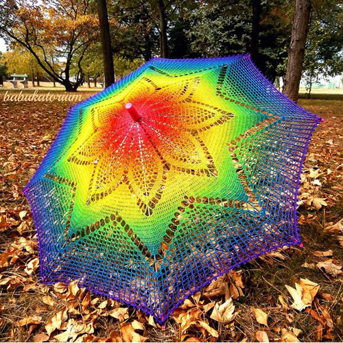 Ideas for Crochet Umbrellas