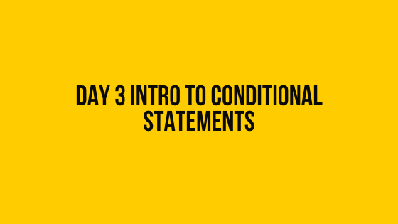 Day 3 intro to conditional statements hackerrank solution