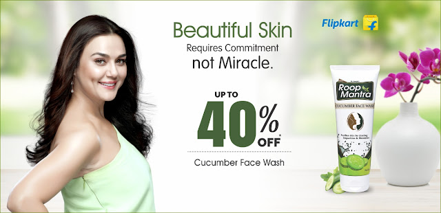 Roop Mantra Cucumber Facial Wash-Preity zinta