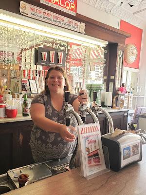 Iowa Ice Cream Road Trip - Wilton Candy Kitchen