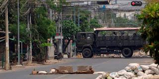 Seis policías muertos en ataque contra comisaría en Birmania