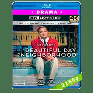 Un buen día en el vecindario (2019) Ultra HD BDRip 2160p Latino