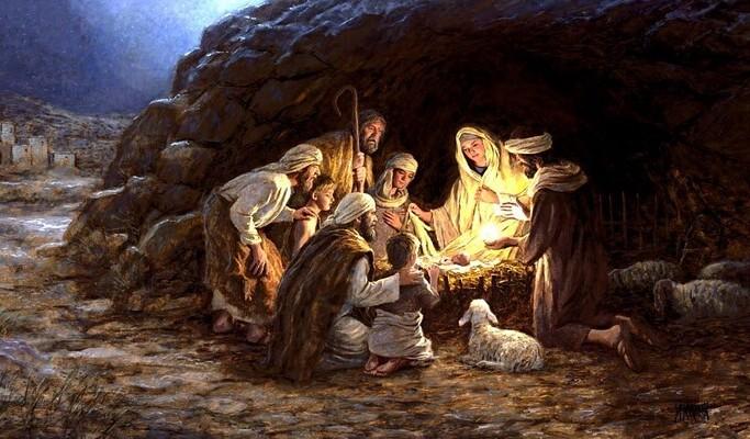 El nacimiento de Jesús en Navidad