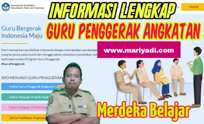 Guru penggerak angkatan 5 www.mariyadi.com