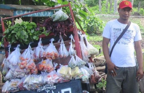 Inspirasi Sukses Penjual Sayur Keliling Mampu Memiliki Rumah, satu pick-up, dan lima sepeda motor