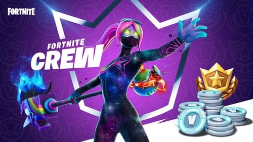 Fortnite Crew: Fortnite Monthly Subscription Game