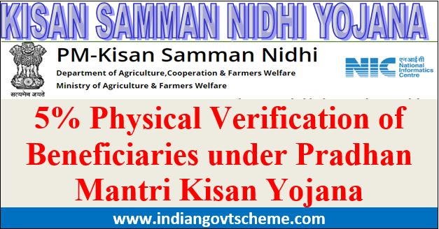 Physical+Verification+of+Beneficiaries+under+PMKY