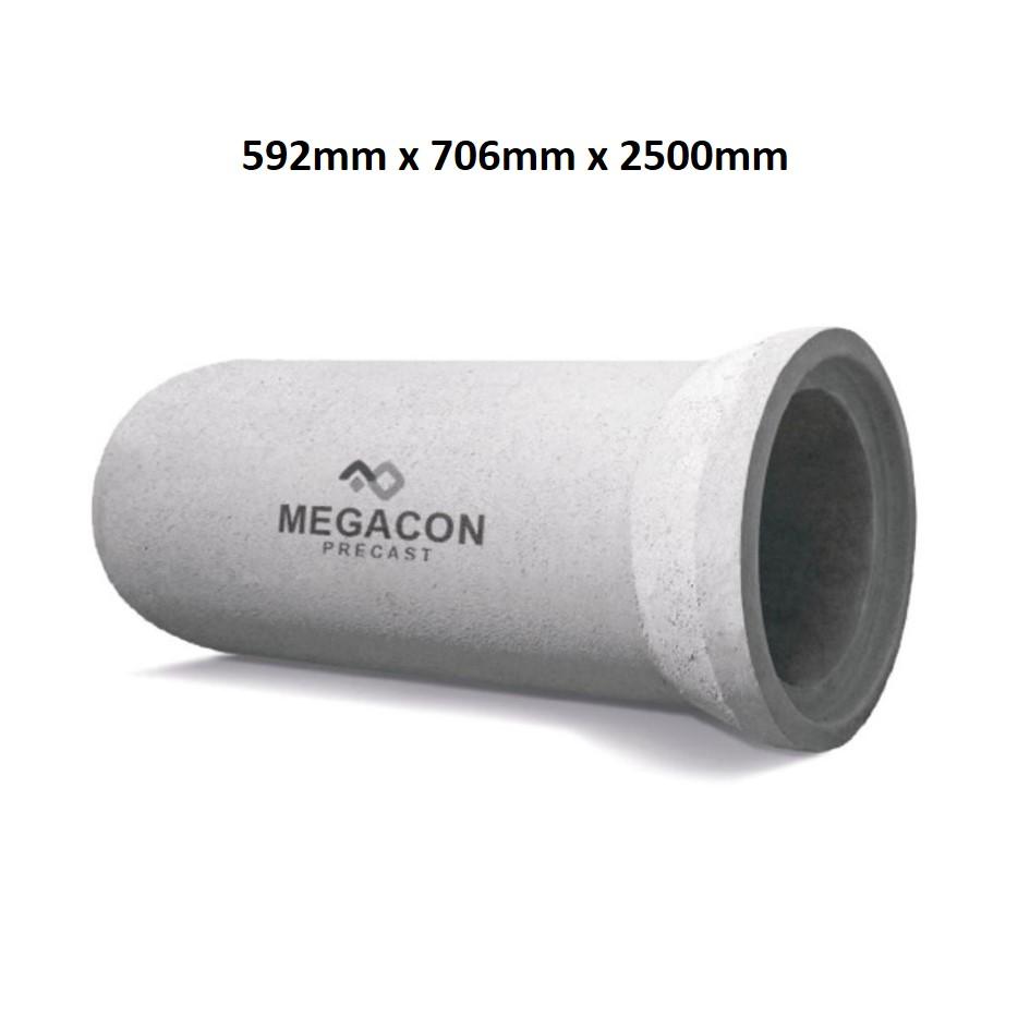 Pipa Beton Bertulang (Tipe R Kelas 2) Diameter 500 mm