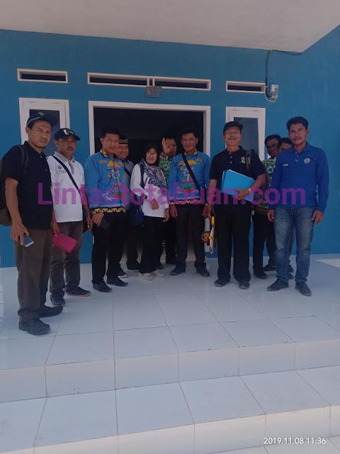 Inspektorat Pesisir Barat, Melaksanakan Monev  di Kecamatan Ngaras