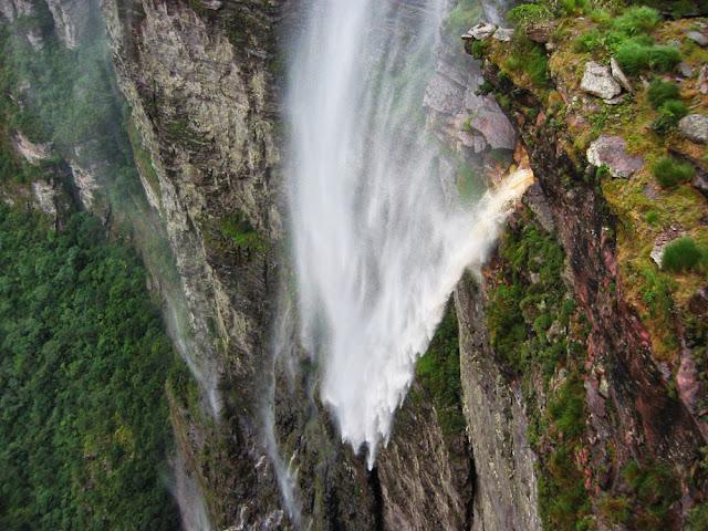 Cachoeira da Fumaça vista de cima
