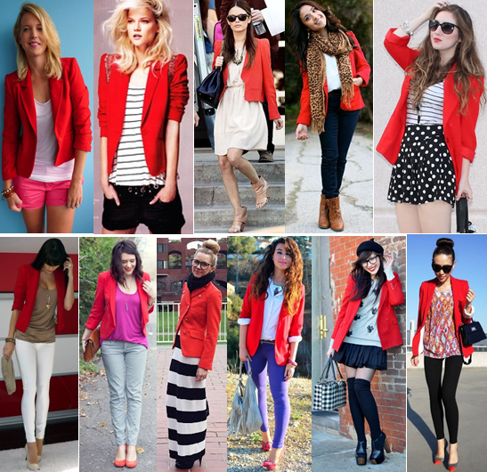 Oct 25,  · Here are 20 style tips on how to wear a blazer: 1. A blazer is an easy way to make sneakers, jeans and a plain shirt look instantly more dressed up. Source. 2. Missing your favorite crop top and skirt combo from the summer? Add a blazer to make it work for cooler nights. Source. 3. A blazer looks perfectly boho-chic with a floppy hat and ankle boots. Source. 4.
