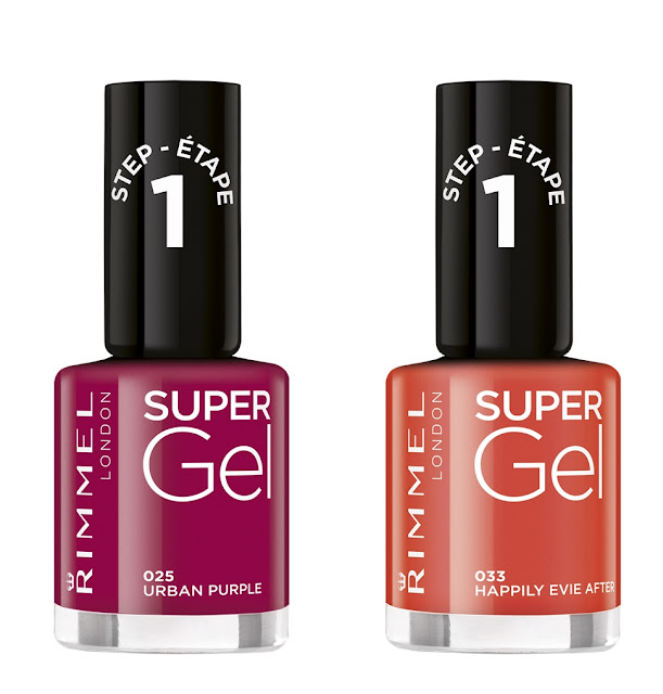 rimmel london super gel shades