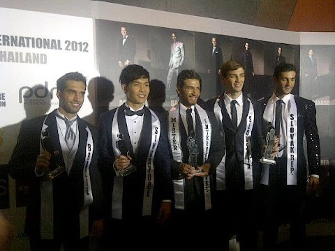 Mister International 2012: Resultados oficiales