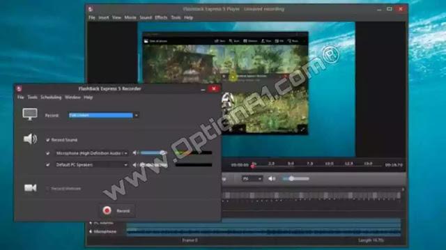 تحميل برنامج FlashBack Express لتسجيل شاشة الكمبيوتر فيديو