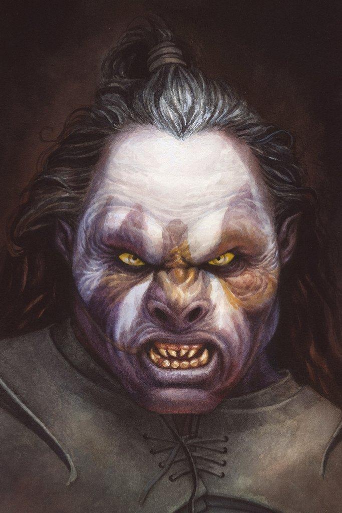 """Reuben Negron """"The Uruk-hai (Lurtz)"""""""