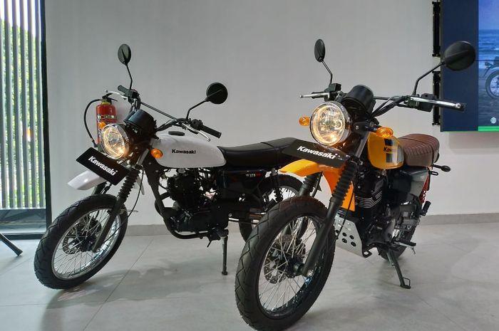 Inden Kawasaki W175TR Kini Membludak Ratusan Unit