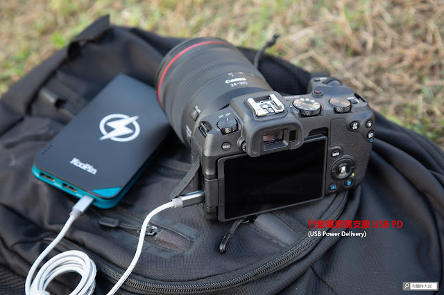 Canon EOS RP 使用心得 - Type-C 充電
