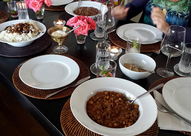 A Goan meal  |  Showing off Stockholm on afeathery*nest  |  http://afeatherynest.com