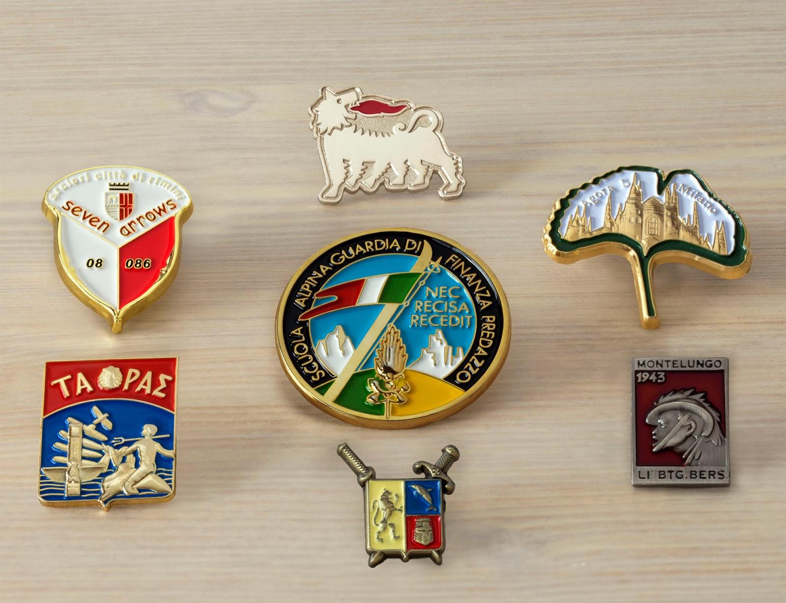 Pins personalizzate